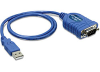 Trendnet TU-S9 RS-232 USB 1.1 Blue cable interface/gender adapter