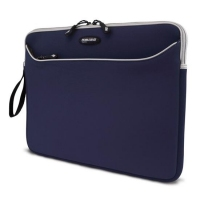 "Mobile Edge MacBook Pro Edition SlipSuit Navy 17"" Sleeve case Blue"