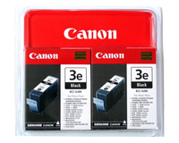 Canon BCI-3EBK, 2-pack Black ink cartridge