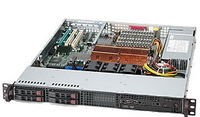Supermicro SuperChassis 111T-560CB, Black Low Profile (Slimline) 560W Black computer case