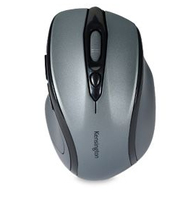 Kensington Pro Fit® Mid-Size Wireless Mouse - Graphite Gray
