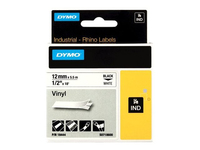 DYMO 12mm RHINO Coloured Vinyl D1 labelprinter-tape