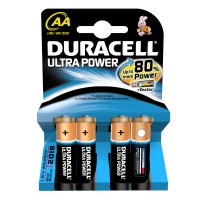 Duracell AA Ultra Power batterijen (4 stuks)