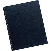 Fellowes 52098 Navy 200pcs binding cover