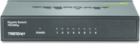Trendnet GREENnet Unmanaged network switch Gigabit Ethernet (10/100/1000) Black