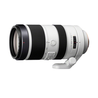 Sony SAL70400G2 SLR Telephoto lens Black, White camera lense