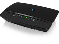 British Telecom 075719 Gigabit Ethernet (10/100/1000) Black network switch