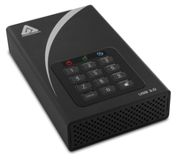 Apricorn ADT-3PL256-4000 4000GB Black external hard drive