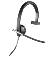 Logitech H650e Mono Monaural Head-band Black headset