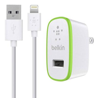 Belkin F8J052TT04 White Indoor Green,White mobile device charger