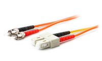 Add-On Computer Peripherals (ACP) ST - SC, 1m 1m ST SC Orange fiber optic cable