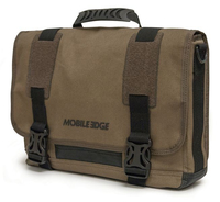"Mobile Edge MEUME9 15"" Messenger case Olive notebook case"