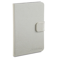 "Verbatim Folio 8.9"" Folio White e-book reader case"
