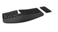 Microsoft Sculpt Ergonomic for Business RF Wireless QWERTY English Black keyboard