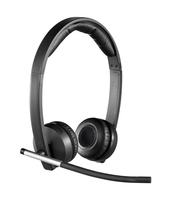 Logitech H820e Monaural Head-band Black headset