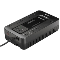 CyberPower EC750G Standby (Offline) 750VA 12AC outlet(s) Compact Black uninterruptible power supply (UPS)