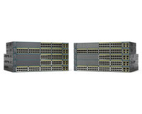 Cisco Catalyst WS-C2960+24PC-L Managed L2 Fast Ethernet (10/100) Power over Ethernet (PoE) Black network switch