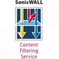 DELL SonicWALL Content Filtering Service Premium Business Edition for TZ 210 Series (1 Year) 1year(s)