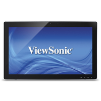 "Viewsonic TD2740 27"" 1920 x 1080pixels Black touch screen monitor"