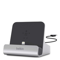 Belkin Express Dock Tablet Black,Silver mobile device dock station