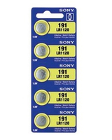 Sony LR1120 5pk Alcaline 1.5V pile non-rechargeable