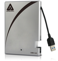 Apricorn Aegis Portable 3.0 1TB 1000GB Black,Silver external hard drive
