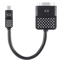 Belkin F2CD028BT mini DisplayPort D-Sub Zwart kabeladapter/verloopstukje
