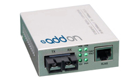 Add-On Computer Peripherals (ACP) 100BTX-100BFX 100Mbit/s Grey network media converter