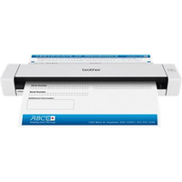 Brother DS-620 Sheet-fed scanner 600 x 600DPI A4 Black, White scanner