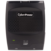 CyberPower CPS175SURC1 175W Black,Grey power adapter & inverter