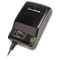 CyberPower CPUAC600 indoor Black power adapter & inverter