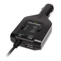 CyberPower CPUDC1U2000 auto Black power adapter & inverter