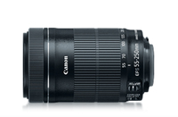 Canon EF-S 55-250mm SLR Telephoto lens Black