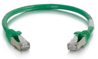 C2G 3ft. Cat6 RJ-45 0.91m Cat6 S/FTP (S-STP) Green networking cable