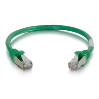C2G 5ft Cat6 1.52m Cat6 S/FTP (S-STP) Green networking cable