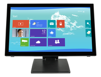 "Planar Systems PCT2265 21.5"" 1920 x 1080pixels Multi-user Black touch screen monitor"