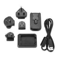Garmin 010-11921-06 Outdoor Black battery charger