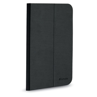 "Verbatim 98369 8"" Folio Black tablet case"