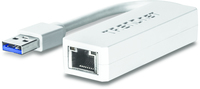 Trendnet TU3-ETG USB 3.0 RJ-45 White cable interface/gender adapter
