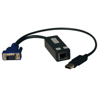 Tripp Lite B078-101-USB-1 Black KVM cable