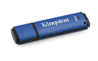 Kingston Technology DataTraveler Vault Privacy 3.0 4GB 4GB USB 3.0 (3.1 Gen 1) Type-A Blue USB flash drive