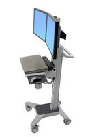 Ergotron Neo-Flex Dual WideView WorkSpace Flat panel Multimedia cart Grey