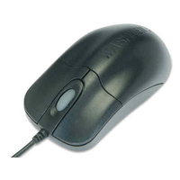 Seal Shield Silver Storm USB Optical 800DPI Ambidextrous Black mice