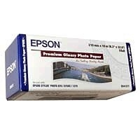 Epson Premium Glossy Photo Paper Roll, 210 mm x 10 m, 255g/m²