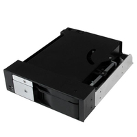 "StarTech.com HSB2535SATBK HDD/SSD enclosure 2.5/3.5"" Black storage enclosure"
