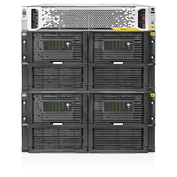 Hewlett Packard Enterprise StoreOnce 4900 60TB Backup Base System 60000GB Rack (7U) Zwart, Roestvrijstaal disk array