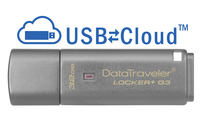 Kingston Technology DataTraveler Locker+ G3 32GB 32GB USB 3.0 (3.1 Gen 1) Type-A Silver USB flash drive