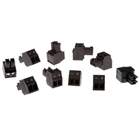 Axis Connector A 2-pin 3.81 Straight 10 pcs A 2-pin 3.81 Noir connecteur de fils