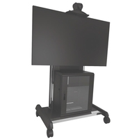 Chief XVAUB Flat panel Multimedia cart Black multimedia cart/stand