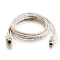 C2G 25ft PS/2 M/F Keyboard/Mouse Extension Cable 7.62m White PS/2 cable